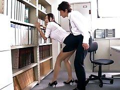 Raguotas Japonijos apskretėlė Reiko Kobayakawa Egzotinių JAV cenzūruojamos Fetišas, Dideli Papai scena