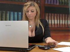 Rasių Office Sekso su Sara Jay