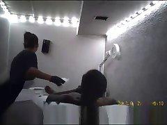 Cum During Shave