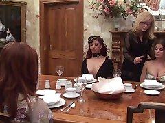 Nina Hartley and the slaves
