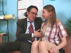 SB3 Cute Girl Gets Fucked By The Headmaster !