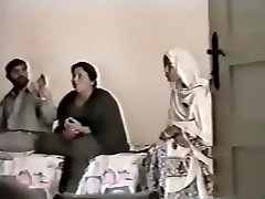 Pákistánské Lahore Teta Kurva S chlapcem