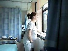 nevjerojatno amaterska snimka s solo, trudnice scene