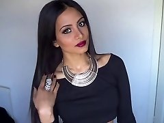 Valentine's Den Sexy Glam Make-up & Oblečení