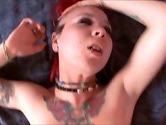 Goth Teenage Tara Gets POV Cock
