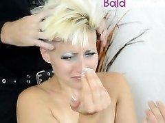 BaldPornGirls.com's fetish model heads trimmed