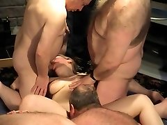 Hunks at swingers party