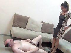 Goddess Lana your testicles were meant to be crushed
