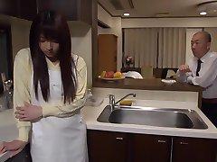 Exotic Japanese whore Shiori Kamisaki in Crazy fingering, rimming JAV scene