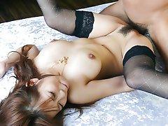 Fabulous Japanese slut Konatsu Aozona in Incredible JAV uncensored Blowjob video