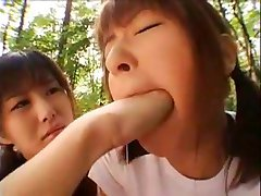 Japanese mouth fisting