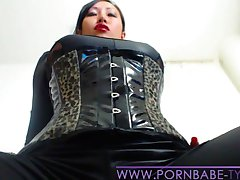 PornbabeTyra giving you jerk off instruction