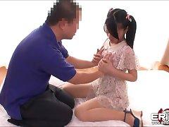 Japanese cutie Mikako suck and ride cock