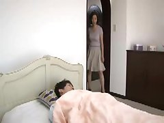 japanese mother is caught by young