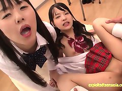 Abe Mikako Does Deep Rimming Shares Eating Cum With Friend