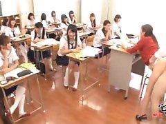 Teacher in school