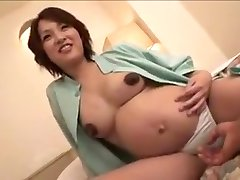 pregnant Japan woman still gets fuck part 2
