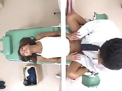 JapWife gets her Pussy Hammered by Gynecologist ch2