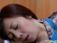 awesome Asian mature drilled by husband