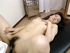 Hirsute dilettante student having massage