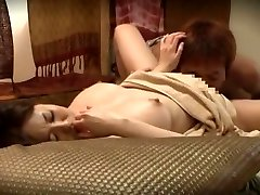 Lustful Japanese slut Akari Minamino in Incredible Massage JAV movie