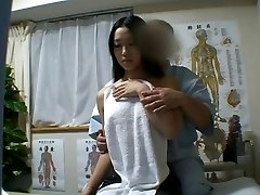 Japanese beauty massaged and drilled lustily