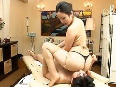 Mad Japanese playgirl Mika Mizuno, Sakura Anna in Hottest Massage JAV clip