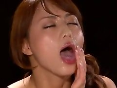 Amazing Asian model Akiho Yoshizawa in Fabulous POINT OF VIEW, Facial JAV scene