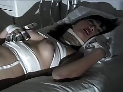 Purple Haired Gothic Asian Puts On One Horny Fetish Display