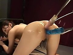 Crazy Japanese whore Nozomi Mashiro in Epic Faux-cocks/Toys, Anal JAV clip