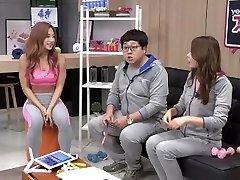Korean Fitness Woman Shim E. on tv program 01