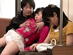 Asian teen having intercourse in public place