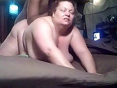 PLUS-SIZE lovemaking clip