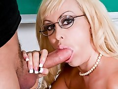 Brittany O'Neil & Xander Corvus in My First-ever Bang-out Teacher