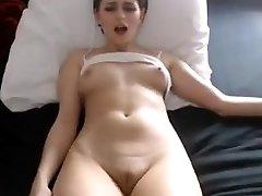Babe Sexy mamilos dedilhado de gordura cameltoe buceta