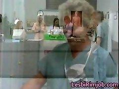 Horny girl/girl nurses ass ass licking free part4