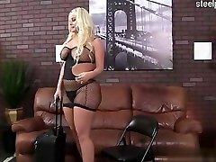 Super-cute slut anal first time