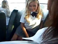 Bree - White schoolgirl Bus Whore