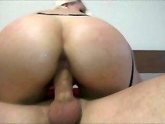 Big ass rides a dick macro shot Helena Moeller