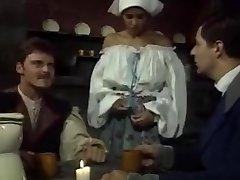 Dalila - Italian Maid boned by Boss and mate