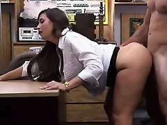 Big ass babe gets horny