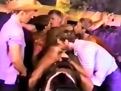 Retro Homosexual Twink Group Sex