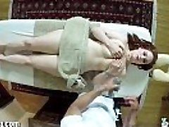 TrickySpa Siri Gargles Cock of Voyeur massagist