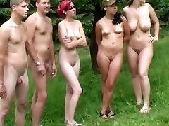 Czech nudists on my hidden cam movie