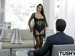 TUSHY Steamy Alektra Blue Assfucked by Large Cock