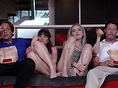 DaughterSwap - Teens Tricked Into Ravaging Dads Greatest Friend