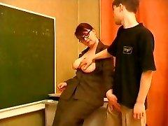Professor Seduces A Young Guy