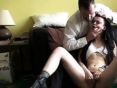 Sexy girlfriend extraordinary gang poke