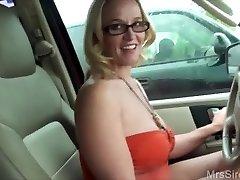 Wife Bangs Stranger in Backseat