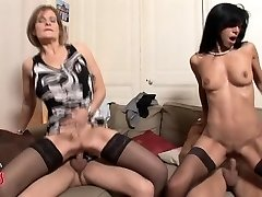 French COUGAR swingers fourway